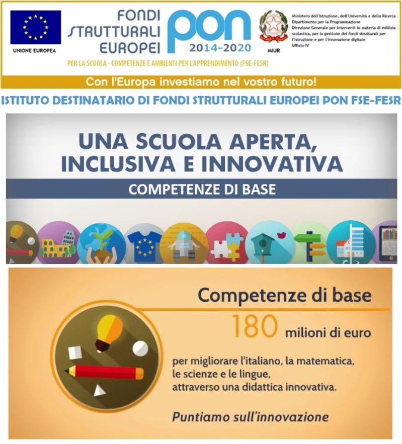 PON COMPETENZE DI BASE 2-INFANZIA-CIP 10.2.1A-FSEPON-CA-2019-284
