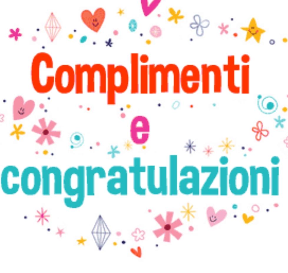 Congratulazioni!
