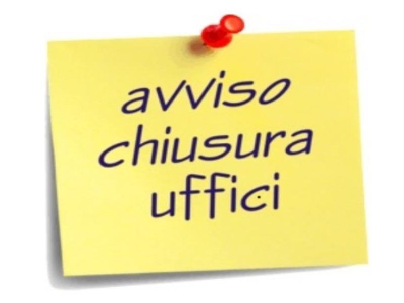 CHIUSURA SCUOLA 3-4 GENNAIO 2019  A SEGUITO ORDINANZA COMUNALE