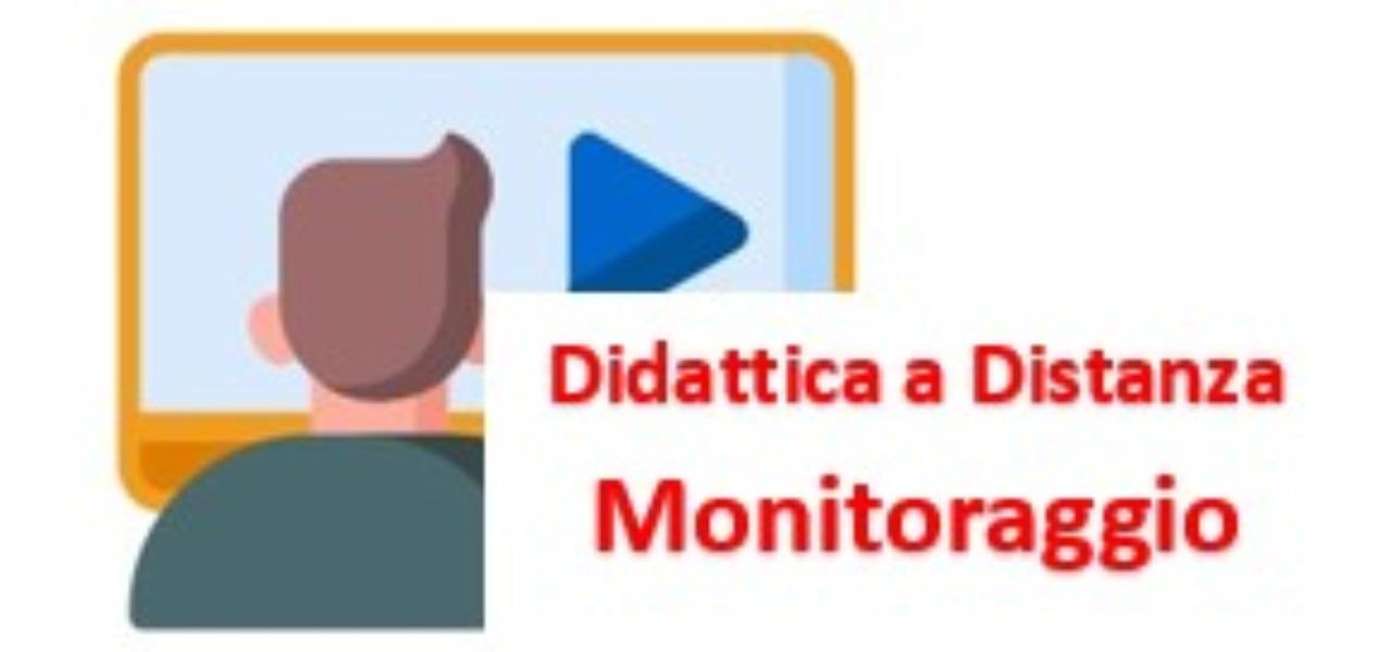 MONITORAGGIO DIDATTICA A DISTANZA